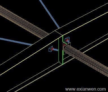 钢结构系杆实物图