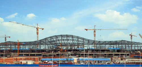 长沙黄花国际机场新航站楼钢结构工程