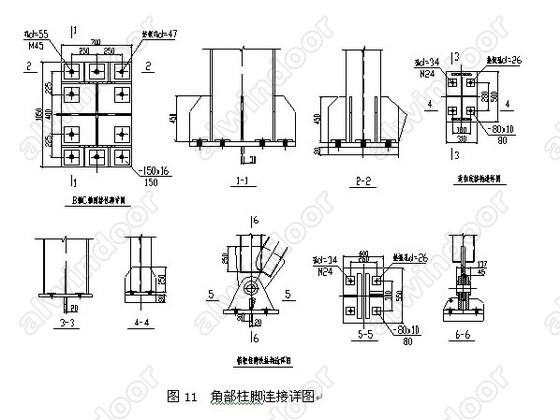 ;本工程结构紧凑,造型美观,经济效益较好。该工程由山西省长治市航建建筑安装公司承建。  2.结构选型与分析 2.1 结构选型 本工程所处的地理位置是厂旧锅炉房拆迁后所剩下的一块地方,周围都是楼房或建筑物,为了充分利用现有的建筑空间,它的平面形状已被确定,见图2所示。建筑长度为57.