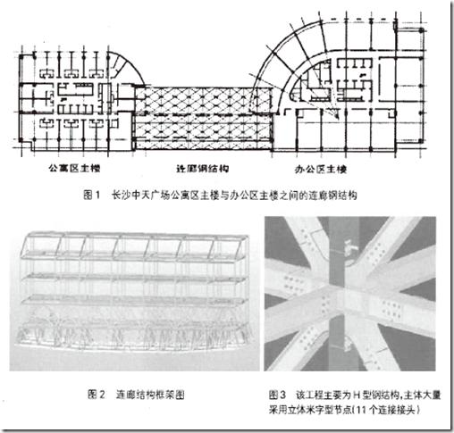 钢结构连廊整体吊装的设计与施工图片