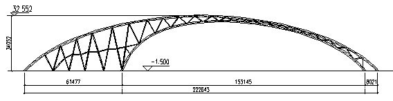 """""""希夷之大理""""彩虹桥钢结构设计与研究"""